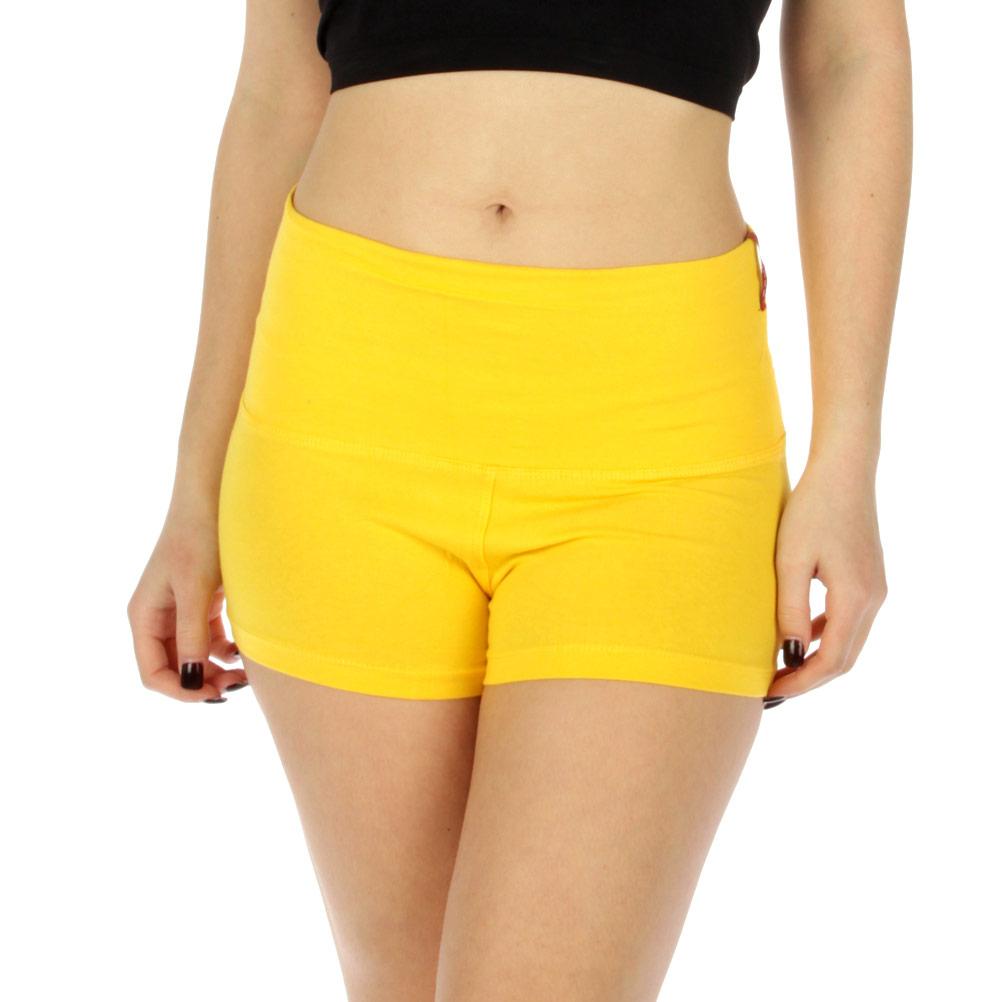 Wholesale WA00 Active Cotton Yoga Shorts YL(S/M/L