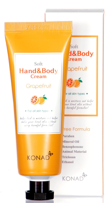 L21A KONAD Soft Hand & BODY Cream GRAPEFRUIT