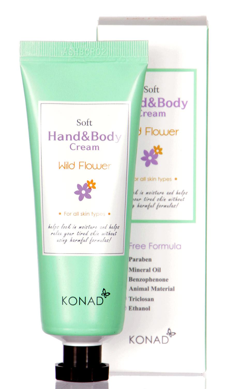 L21A KONAD Soft Hand & BODY Cream WILDFLOWER