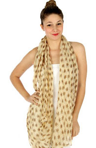 Wholesale Wrinkle Print Scarves