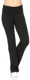wholesale M42 Solid cotton yoga pants Black