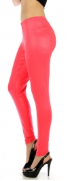 wholesale M80 Snakeskin embossed leggings Pink Queen