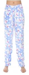 Wholesale U10B Pajama pants Rabbits Blue