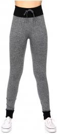 Wholesale A20 Legging Jogger pants w/ drawstring Black
