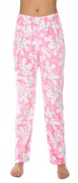 Wholesale U10B Pajama pants Rabbits Pink