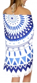 Wholesale TX10 Simple european pattern beach towel White