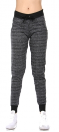 Wholesale E37E Cotton blend joggers Charcoal