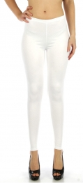 wholesale M80 Snakeskin embossed leggings White Regular