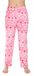 Wholesale U08 Pajama pants Dots Pink