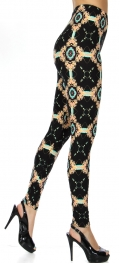 Wholesale T67E NEW MIX soft brushed leggings Tile
