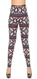 Wholesale T10D NEW MIX Soft brushed print leggings Geo