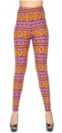 Wholesale T10C NEW MIX Soft brushed print leggings Stripe Mandala