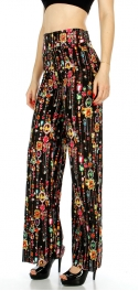 Wholesale A21 Multi Print Palazzo Pants