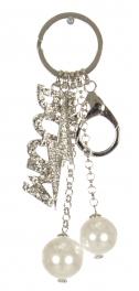 Wholesale WA00 Rhinestone BOOM & lightening keychainRCL