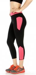 Wholesale P03 Contrast side yoga pants PK