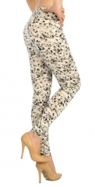 wholesale F14 Floral ink liquid leggings L/XL