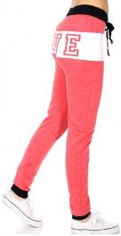wholesale Two tone LOVE jogger pants H.Red fashionunic