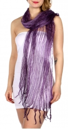 Wholesale-H39C Vertical chenille scarf PU