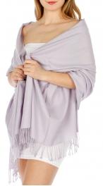 Wholesale D06 Solid pashmina shaw #12
