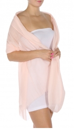 Wholesale I35 Linen feel oblong solid scarf Grey