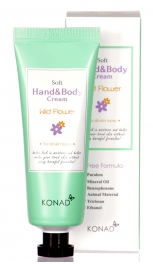 Wholesale WA00 KONAD Soft Hand & Body Cream WILDFLOWER