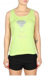 wholesale G47 2ps Ring print cotton pajama set Green