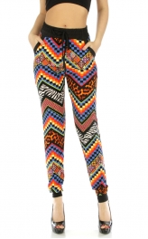 Wholesale C18 Two pocket chevron jogger pants