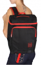 Wholesale U11C Laptop backpack Black/Red