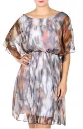 Wholesale S70B Cotton blend V-back dress