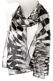 Wholesale O42B Two tone satin scarf