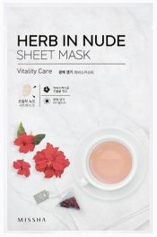 Wholesale MISSHA Herb In Nude Sheet Mask [Vitality Care] 23g (5 pack)