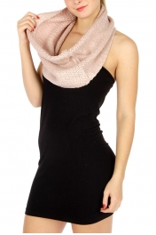 wholesale S61 Silver foil knit neck warmer PK