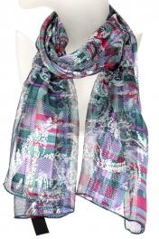 Wholesale WA00 Vintage paisley satin scarf