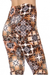 Wholesale Y36D NEW MIX Lively soft brushed leggings PLUS SIZE