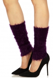 Wholesale Q05G Fuzzy long leg warmers A