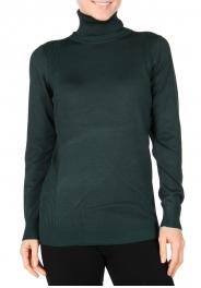 Wholesale P08D Turtleneck sweater top Ivory
