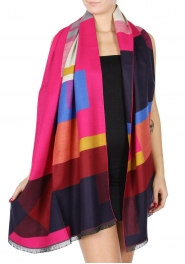 Wholesale R59B Oversized colorful scarf