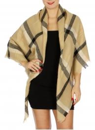 Wholesale O04 Plaid square blanket scarf BG