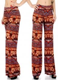 Wholesale P20 Fancy flower palazzo pants