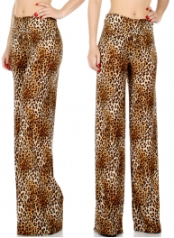 Wholesale P20 Cheetah palazzo pants