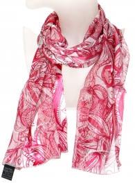 Wholesale O43B Summer paisley satin scarf