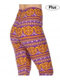 Wholesale Y36C NEW MIX Complex soft brushed leggings PLUS SIZE