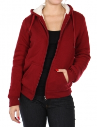 Wholesale Q24-2 Sherpa jacket with hood Black