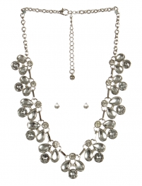 wholesale Clutter stone necklace set RHCL fashionunic