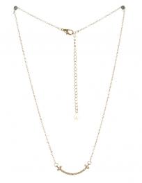 wholesale Studded smile pendant necklace GDCR fashionunic