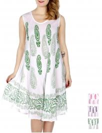 Wholesale K21A Paisley & vine umbrella dress