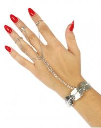 Wholesale L21 Metal leaves rings to bracelet R