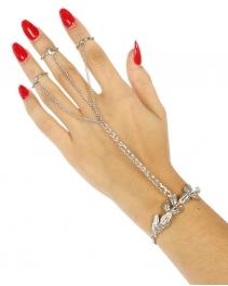 Wholesale L21 Metal branch rings to bracelet R