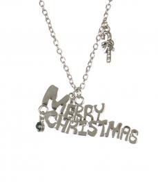 Wholesale WA00 Merry Christmas pendant necklace SV