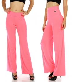 Wholesale C05 Hi waist Solid palazzo pants N.Pink